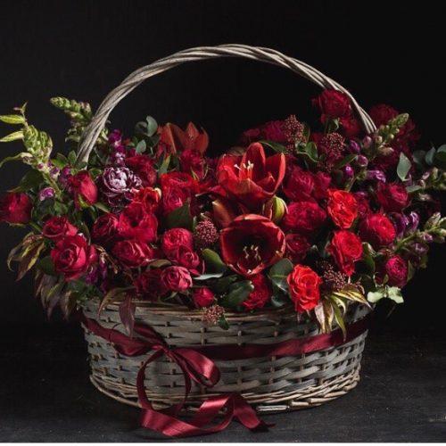 cesta de flores-1
