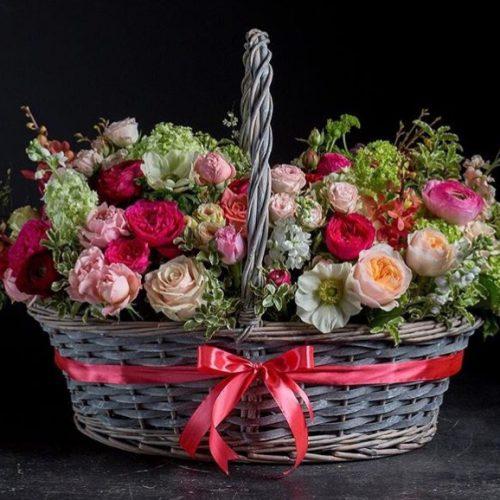 cesta de flores-3